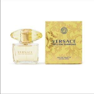 Brand new Versace yellow diamond